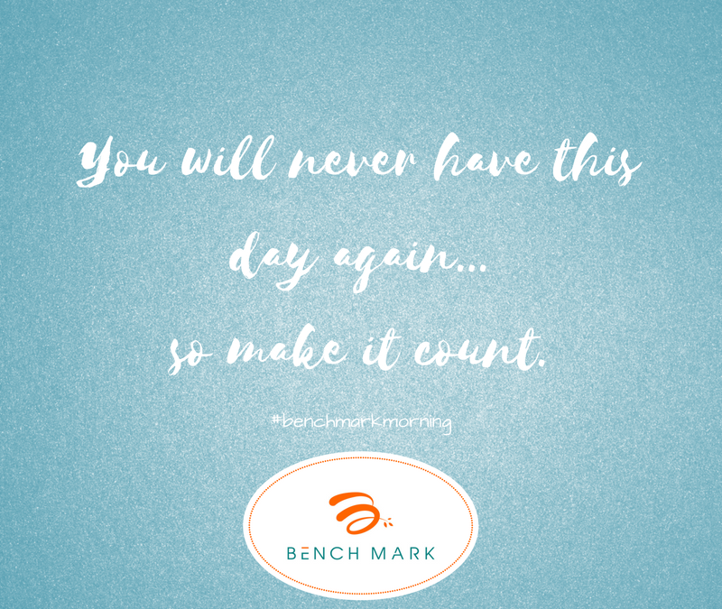Do you have Benchmark Mornings?